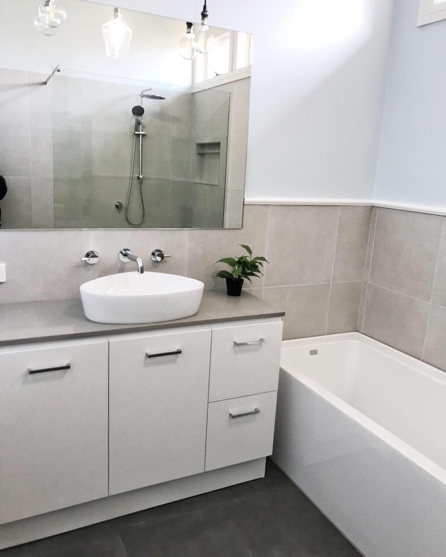 budget bathroom renovations